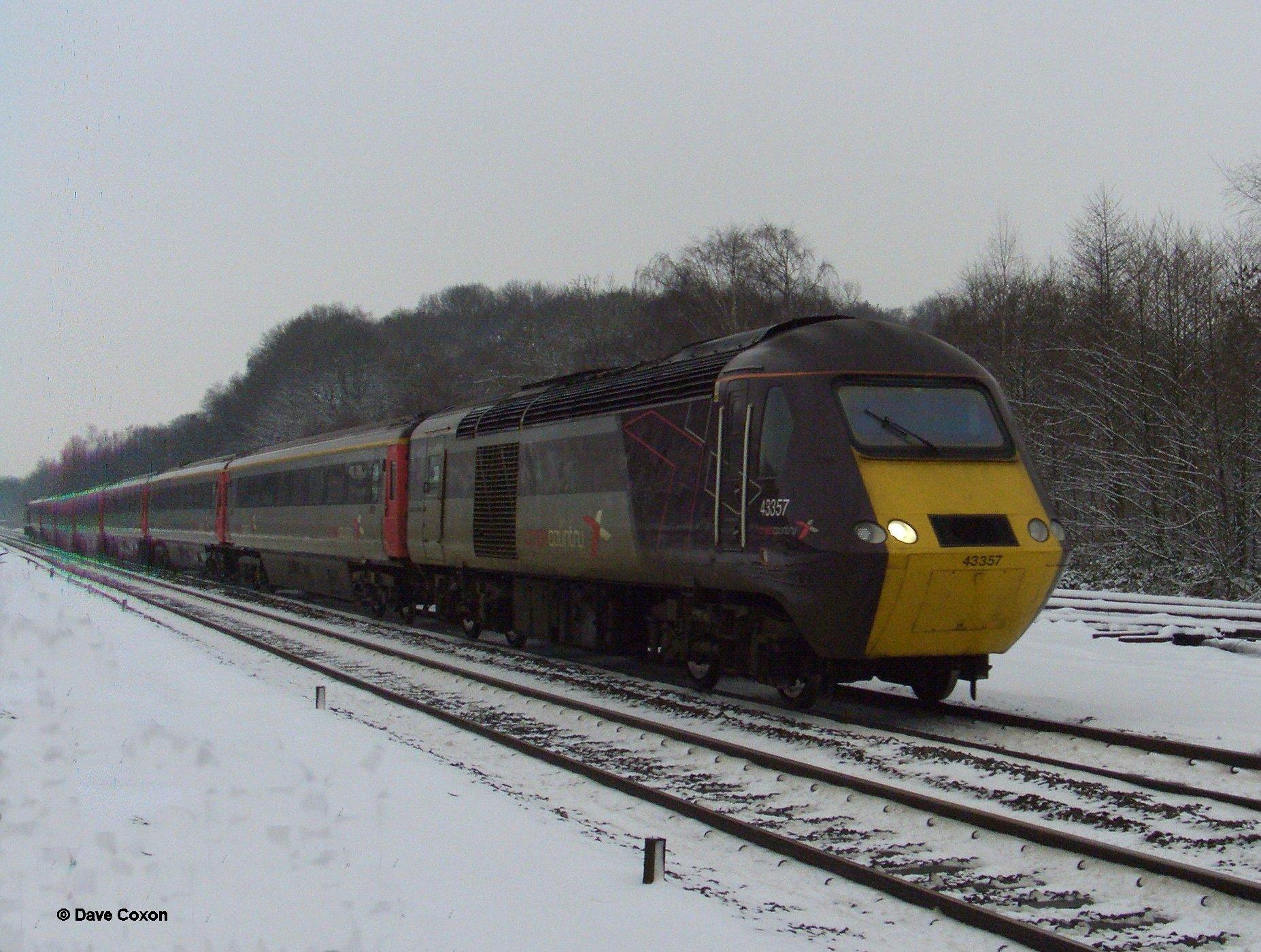 Class 43 Hst Cross Country