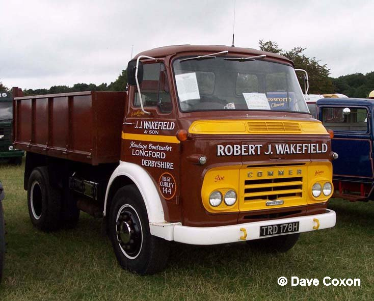 Albion Ford Commercial Vehicles Simon Cars Leyland Truck